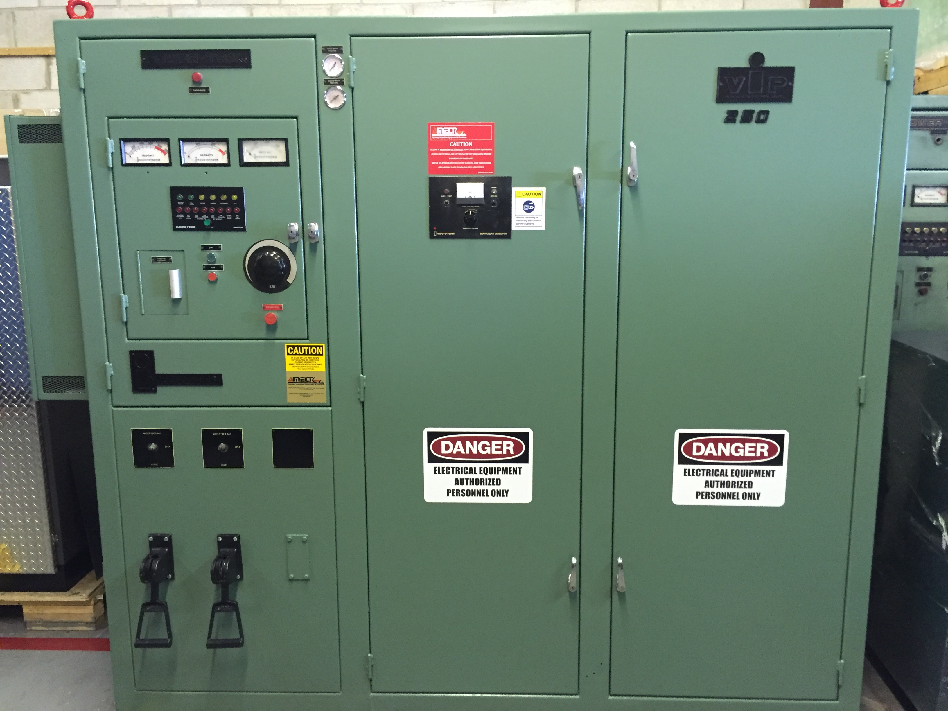 INDUCTOTHERM 250KW