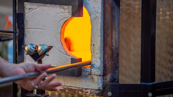 used induction furnace